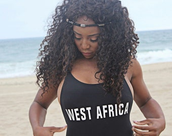 West Africa Vintage Inspired One Piece
