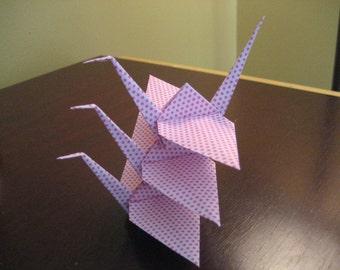 3 Oragami Cranes