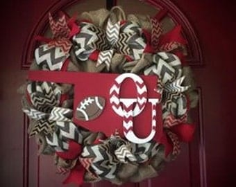 Oklahoma Sooners Wreath
