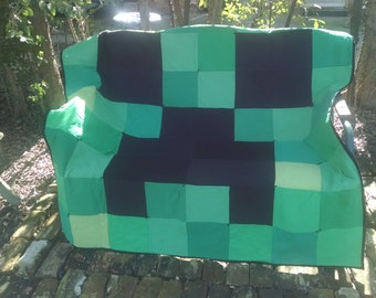 Minecraft quilt   Etsy : minecraft quilt - Adamdwight.com