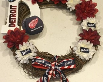 Detroit Red Wings Wreath
