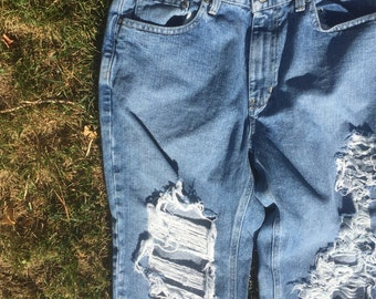 Vintage Ralph Lauren Distressed Jeans