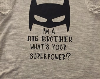 Big Brother Superhero SVG Digital Download File