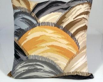 Designer pillow cover, Decorative pillows, Clarence House Fabric, throw pillows