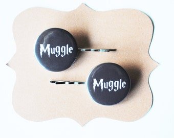 Harry Potter Muggle Bobby Pins - Hair Pins