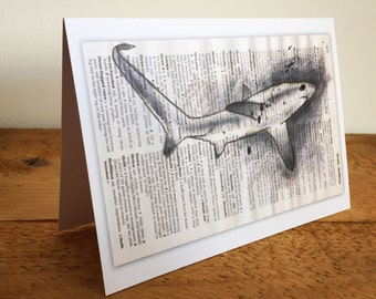 Thresher Shark Greetings Card