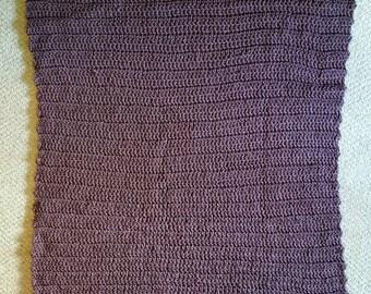 Chocolate brown blanket