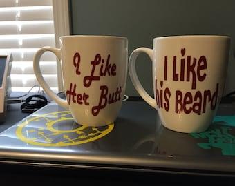 Coffee mugs with saying!