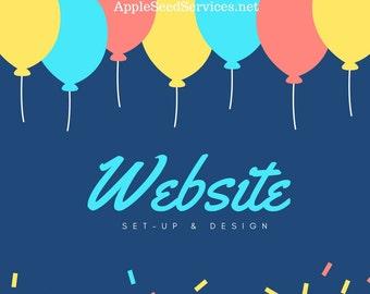 Website/Domain - Setup & Design