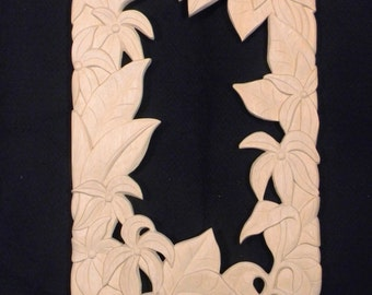CARVED MIRROR FRAME from Bali