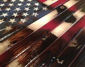 American Flag - Wood American Flag, old glory, American Wood Flag, patriotic, Rustic American Flag, Rustic Flag, Wall Decor, USA