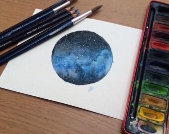 Custom Nebula Watercolour