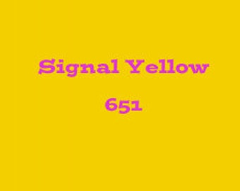 Oracal 651 12X12 Signal Yellow