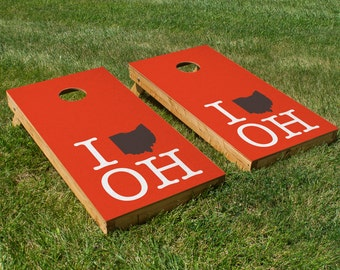 Cleveland Browns Pride Cornhole Board Set