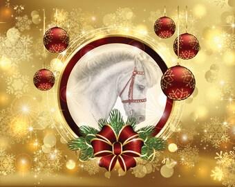Happy Holidays Horse Holiday Cards