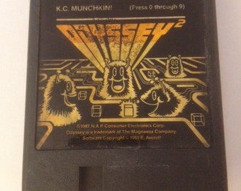 KC Munchkins! Game Cartridge for Odyssey 2 Game System