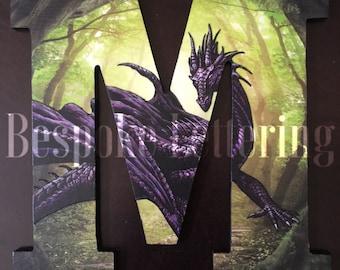 Mystic Dragon themed letter