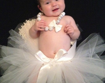 Baby tutu, newborn tutu, birthday tutu, toddler tutu, infant tutu, princess tutu, photo prop, first birthday tutu, dress up, baby shower