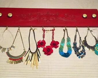 Jewelry Holder from Vintage Drawer Front