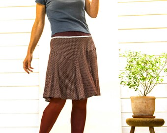 """Move it"" jersey skirt"