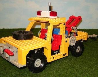 LEGO 8846 - engineering tow truck