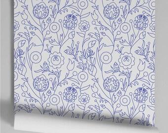 Murdoch blue wallpaper