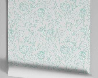 Wallpaper Murdoch Mint