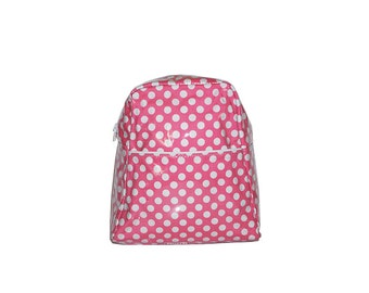 Pink Spot Large Backpack