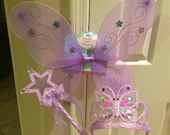 Fairy Dress Up Set *LAVENDER*