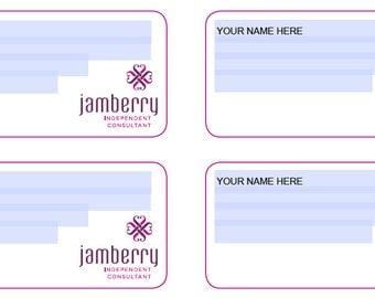 Custom Address Labels Jamberry, PRINTABLE