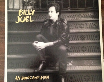 Collection of 5 Billy Joel Vinyls