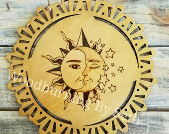 Sun and Moon Plaque