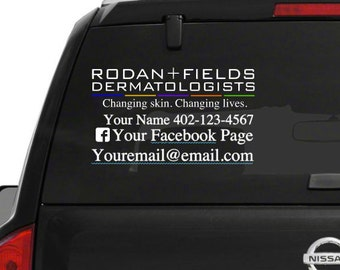 Rodan and fields Car Decal
