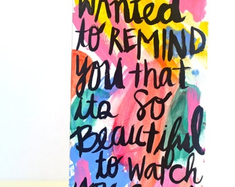 This Reminder Was Meant For You
