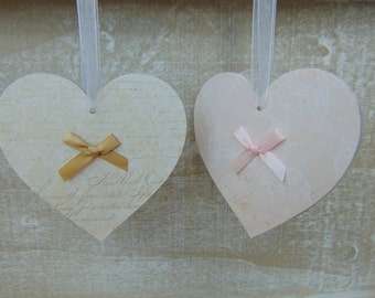 Beautiful Bow Hearts
