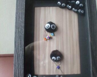 Ooak Ghibli inspired soot sprite picture