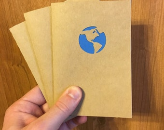 Pocket Notebook - Globe Cover