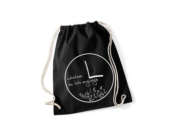 Whatever I'm late Anways - gym bags in 9 colors