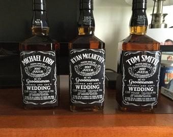 Custom Whiskey Label