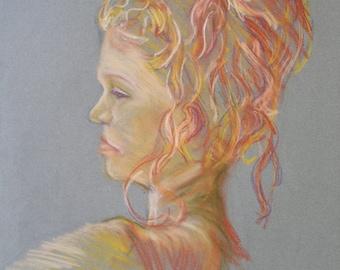 Giclee Print, Caitlin