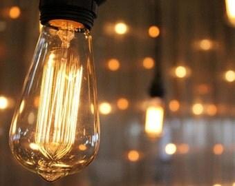E27 edison bulbs