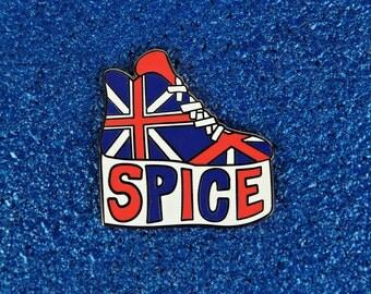 Spice Girls Platform Shoe Enamel Pin