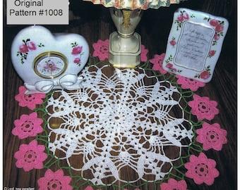 Crochet Doily Pattern Original  New Release