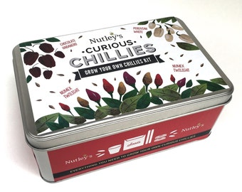 Nutley's Curious Chillies Grow Your Own Tin