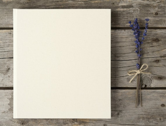 Wedding Guest Book High Quality Plain Blank DIY Guest Book