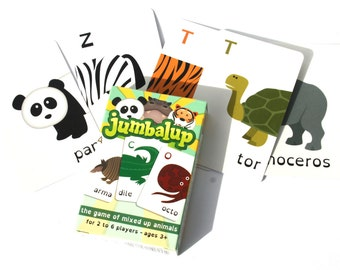 Jumbalup - the family game of mixed up animals (5+)