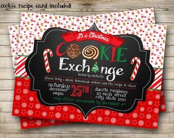 Cookie Exchange Party Digital Invitation