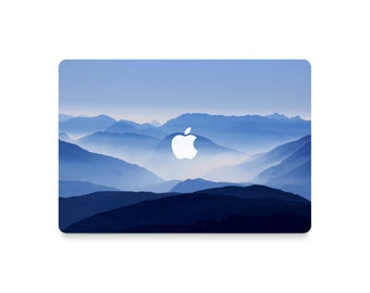 Macbook Decal Mountains, Macbook Skin Mountains, Macbook Case Nature, Laptop Decal Mountains, Laptop Stickers Tumblr, Laptop Cover Nature