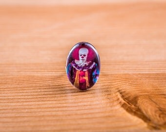 This Ring / Ring he / Clown / Horror / Cabochon / jewelry / horror / Stephen king