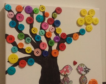 Button Tree Picture